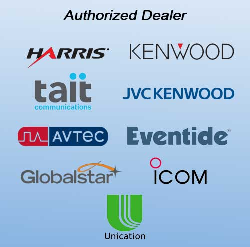 authorized radio dealers harris kenwood globalstar tait icom unication Oregon Washington